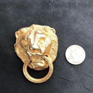 Accessories - Vintage Lionhead belt buckle